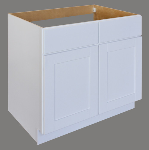 Shaker Hill Sink Base With Two False Drawer Fronts