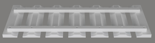 Shaker Hill Glass Holder - CabinetNow.com