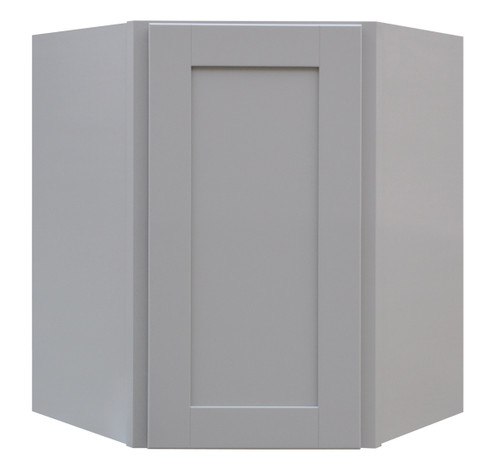 Grayson Series Diagonal Door Wall Cabinet with Pocket Drawers