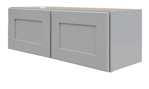 Grayson Series Bridge Wall Cabinet with Soft Close Hinges
