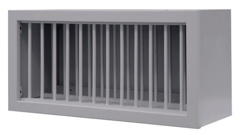 Grayson Series Plate Holder Bridge Wall Cabinet