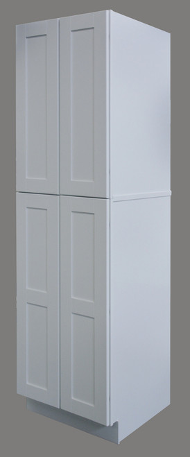 Shaker Hill Double Door Pantry with Soft Close Hinges