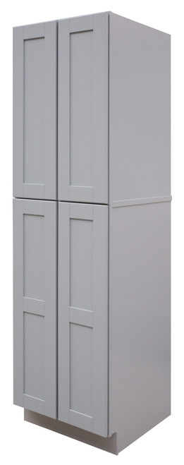 Grayson Series Double Door Pantry with Soft Close Hinges