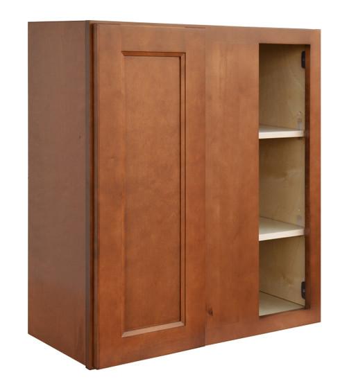 Ellisen Blind Door Wall Cabinet with Pocket Drawers
