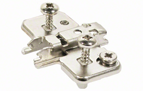 0mm Expando Dowel Wing Baseplate for Cliptop Hinges