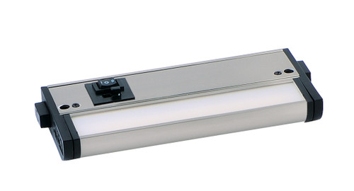 """6"""" Dimmable CounterMax MX-L-120-3K 2700-4000K LED Under Cabinet in Satin Nickel"""