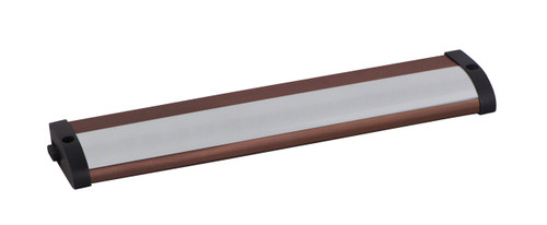 """10"""" CounterMax MX-L120-LO Under Cabinet LED Light in Anodized Bronze"""