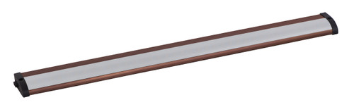 "21"" CounterMax MX-L120-LO Under Cabinet LED Light in Anodized Bronze"