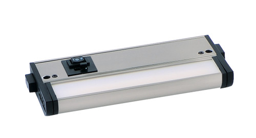 "6"" CounterMax MX-L-120-3K Basics 2700-4000K LED Under Cabinet Light in Satin Nickel"