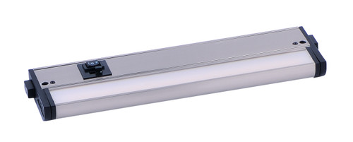 "12"" CounterMax MX-L-120-3K Basics 2700-4000K LED Under Cabinet Light in satin nickel"