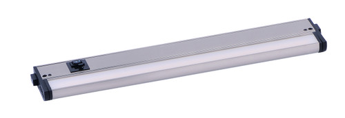 "18"" CounterMax MX-L-120-3K Basics 2700-4000K LED Under Cabinet Light in Satin Nickel"