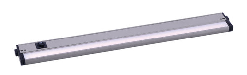 "24"" CounterMax MX-L-120-3K Basics 2700-4000K LED Under Cabinet Light in Satin Nickel"