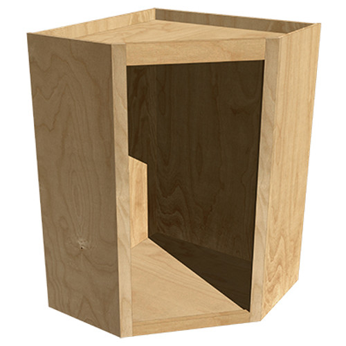 Angled Upper Cabinet