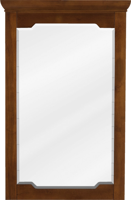 "22"" Chocolate Jeffrey Alexander Mirror from the Chatham Shaker Collection (MIR090-24)"