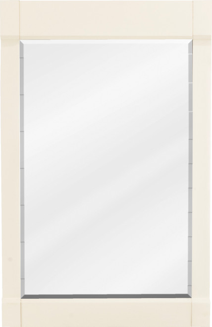 "22"" Cream White Jeffrey Alexander Mirror from the Astoria Modern Collection (MIR091-24)"