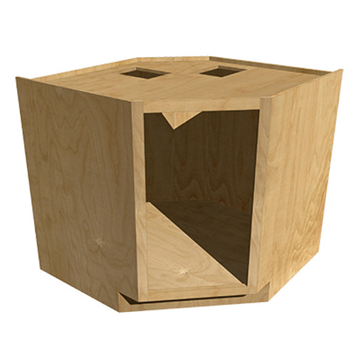 45 Degree Angled Base Cabinet