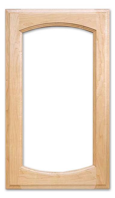 Kathryn Deluxe Glass Cabinet Door