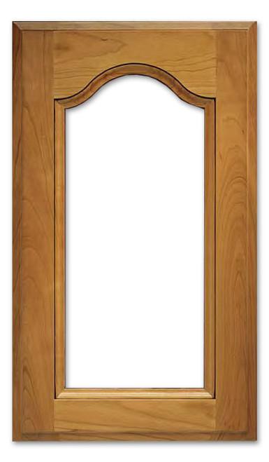 Bordeaux Glass Cabinet Door
