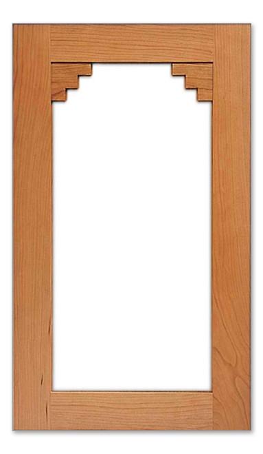 Santa Fe Glass Cabinet Door