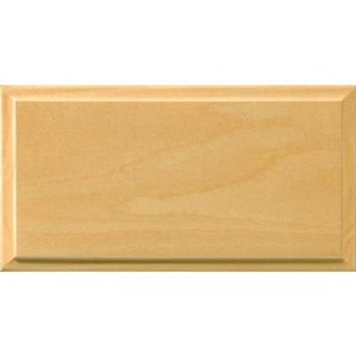 Clear Finished Adobe Solid Drawer Fronts