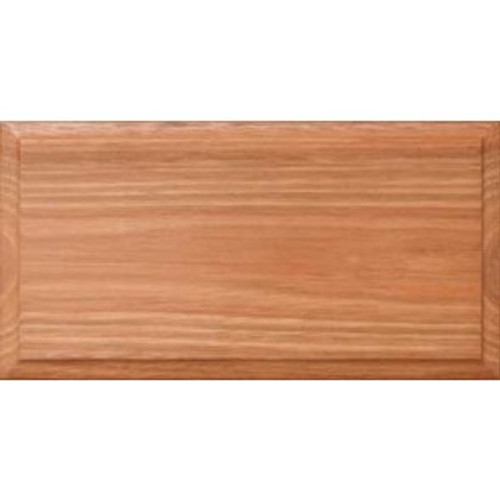 Clear Finished Heritage Solid Drawer Fronts