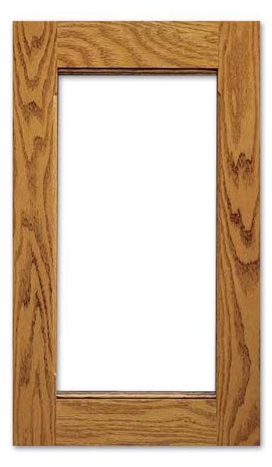 Del Rio Glass Cabinet Door