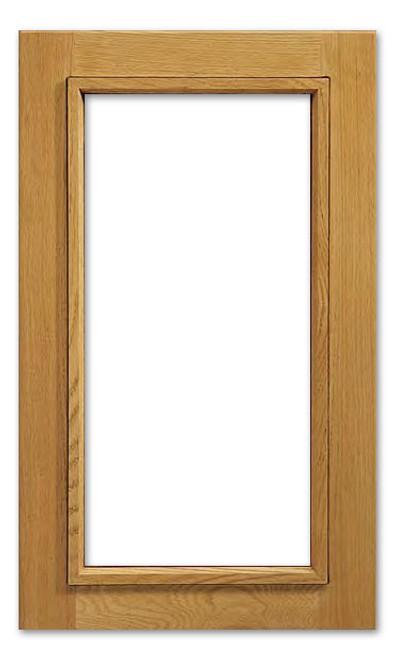 Cascade Glass Cabinet Door