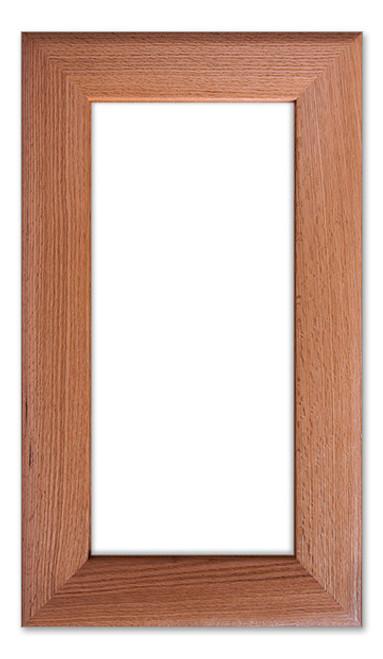 California Solid Glass Cabinet Door