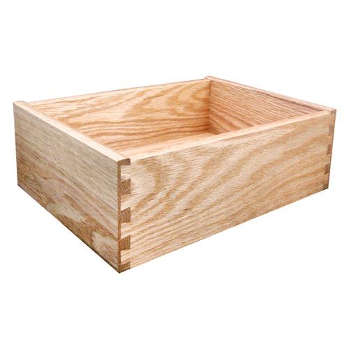 Red Oak Drawer Box