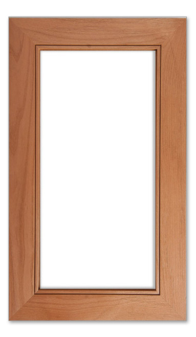 Iceland Solid Glass Cabinet Door