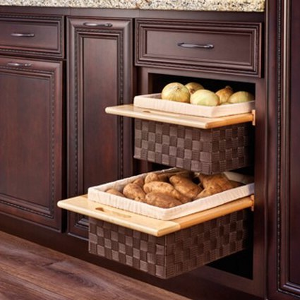 Kitchen Cabinet Racks