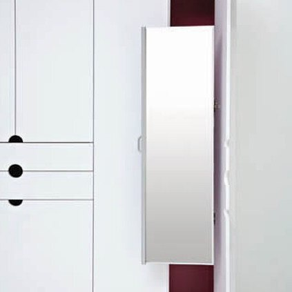 Pull Out Closet Mirrors