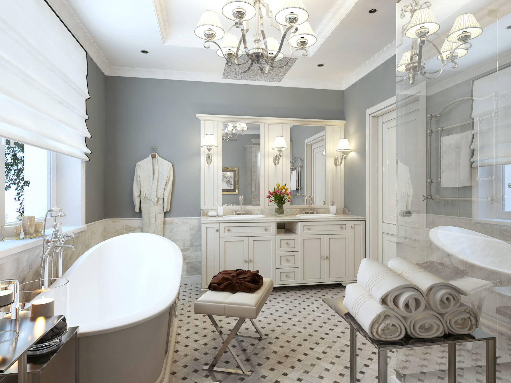 The Best Position for Bathroom Cabinets