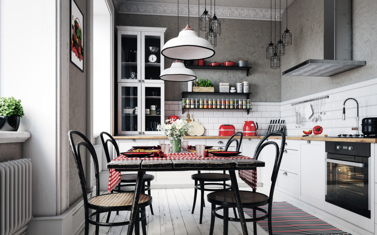 How to Organize Your Kitchen Without a Pantry