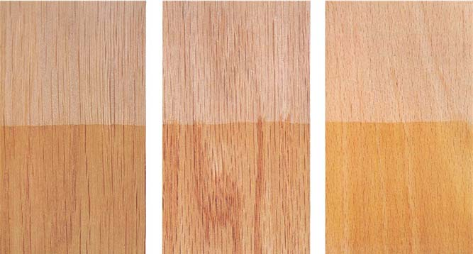 Staining And Sealing Wood Cabinets