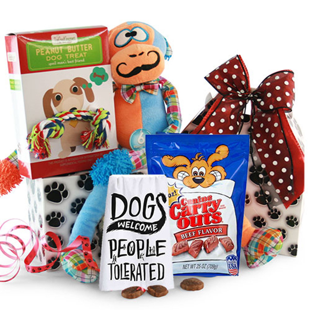 For the Love of Dogs: Pet Dog Gift Basket