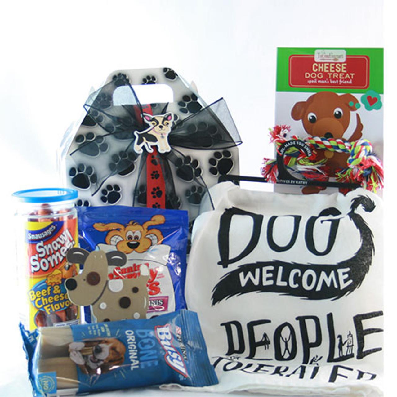 Image 0 of Man's Best Friend: Pet Dog Gift Basket