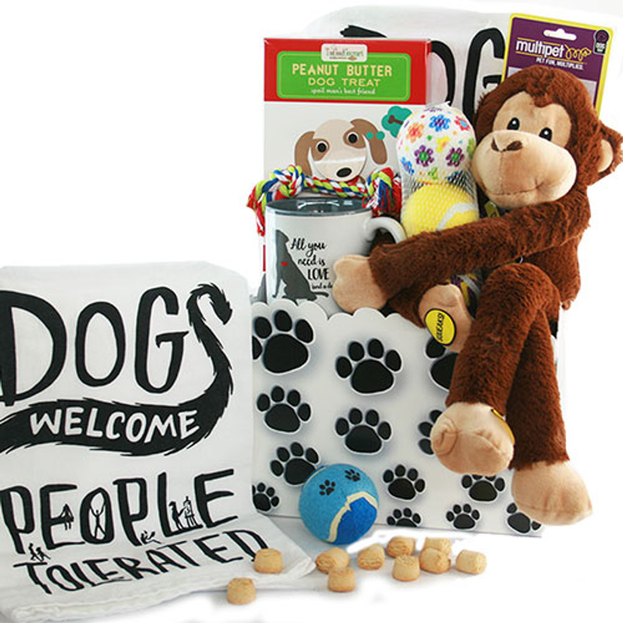 Image 0 of It's a Dogs' Life: Pet Dog Gift Basket