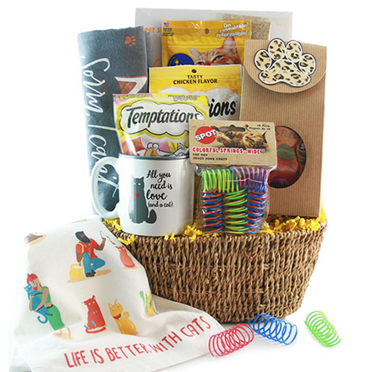 Cat & Mouse Game: Pet Cat Gift Basket