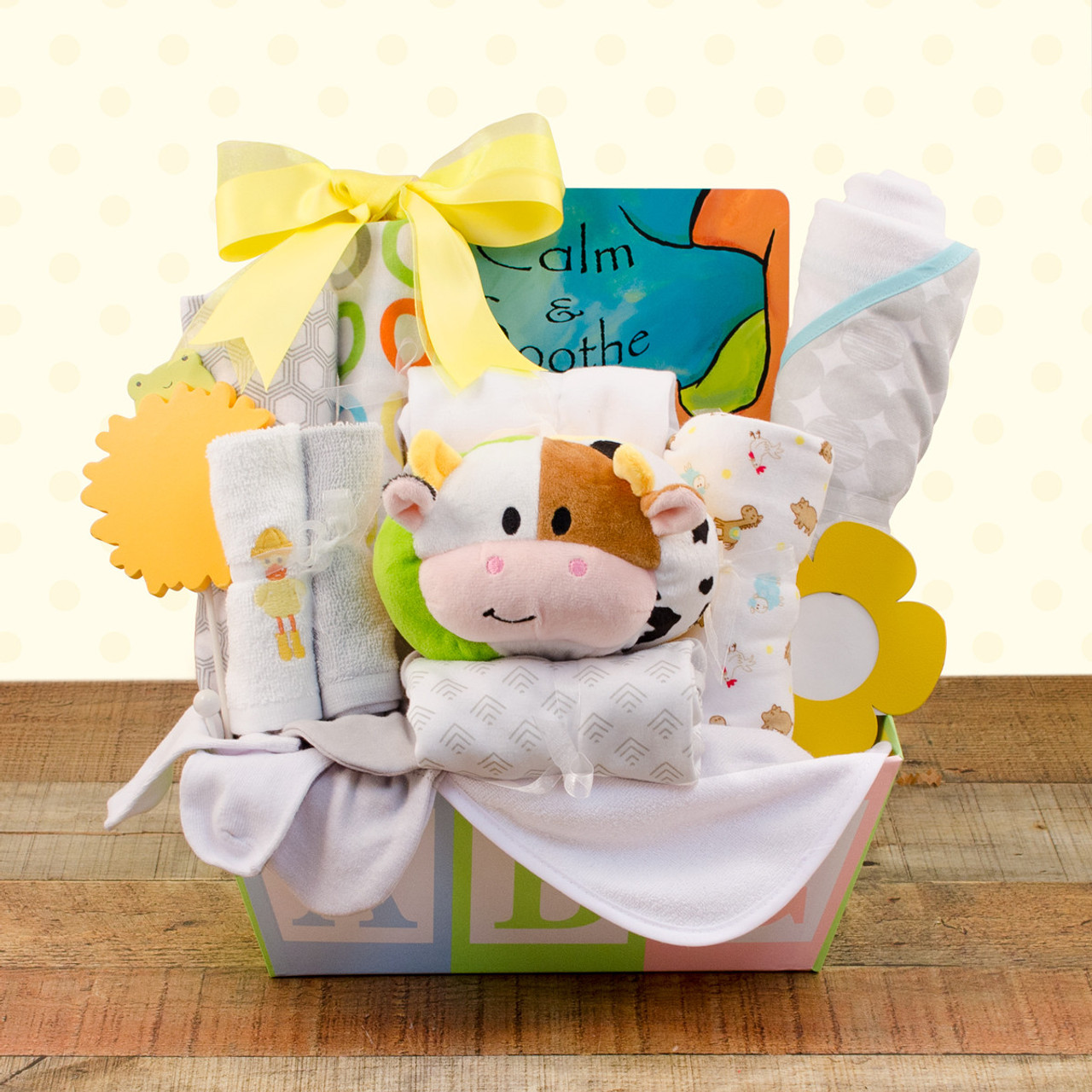 Image 0 of New Baby Love: Baby Gift Basket