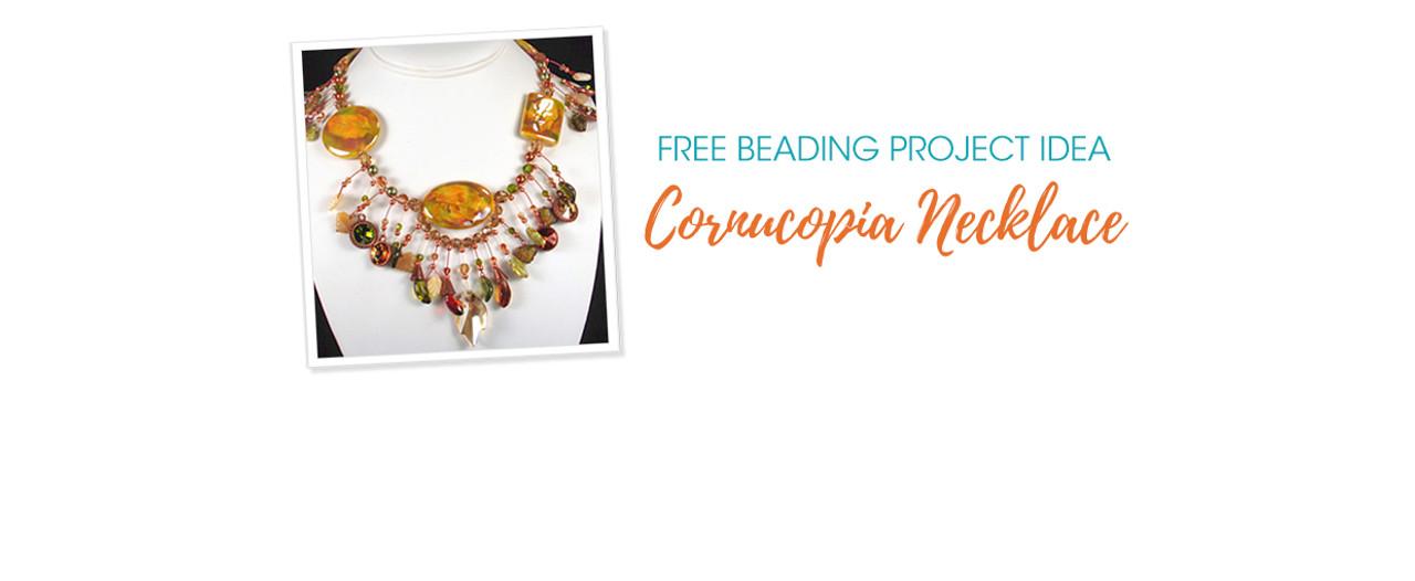 Free Beading Project Idea: Cornucopia Necklace