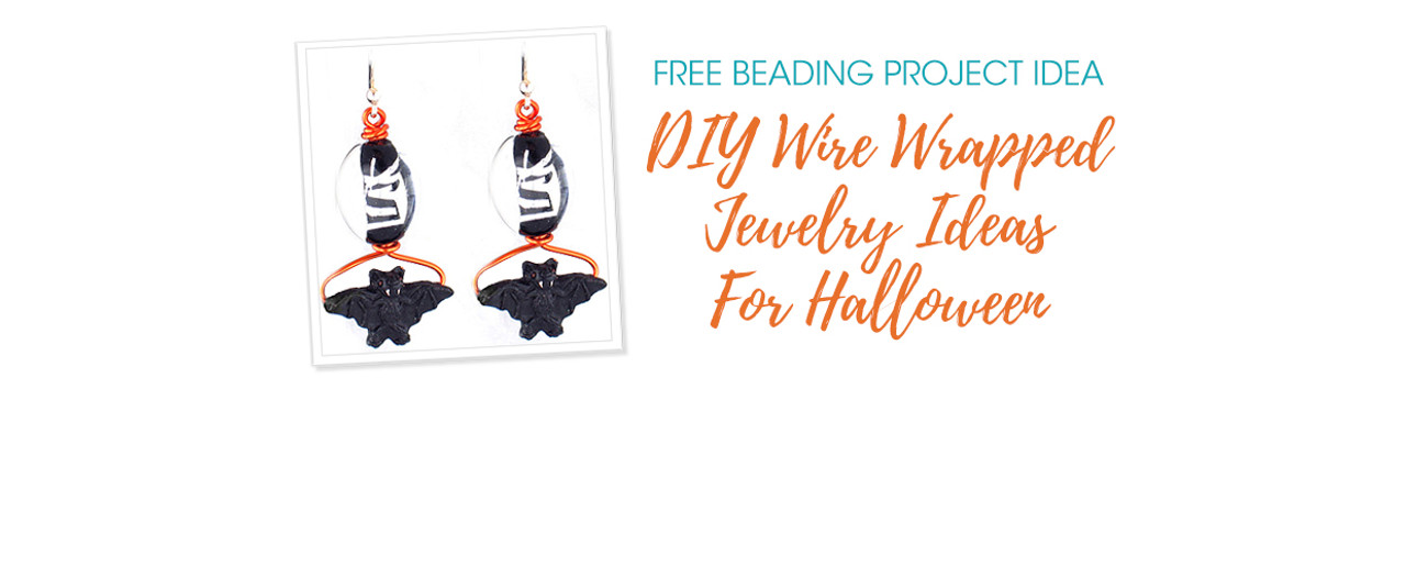 DIY Wire Wrapped Jewelry Ideas For Halloween