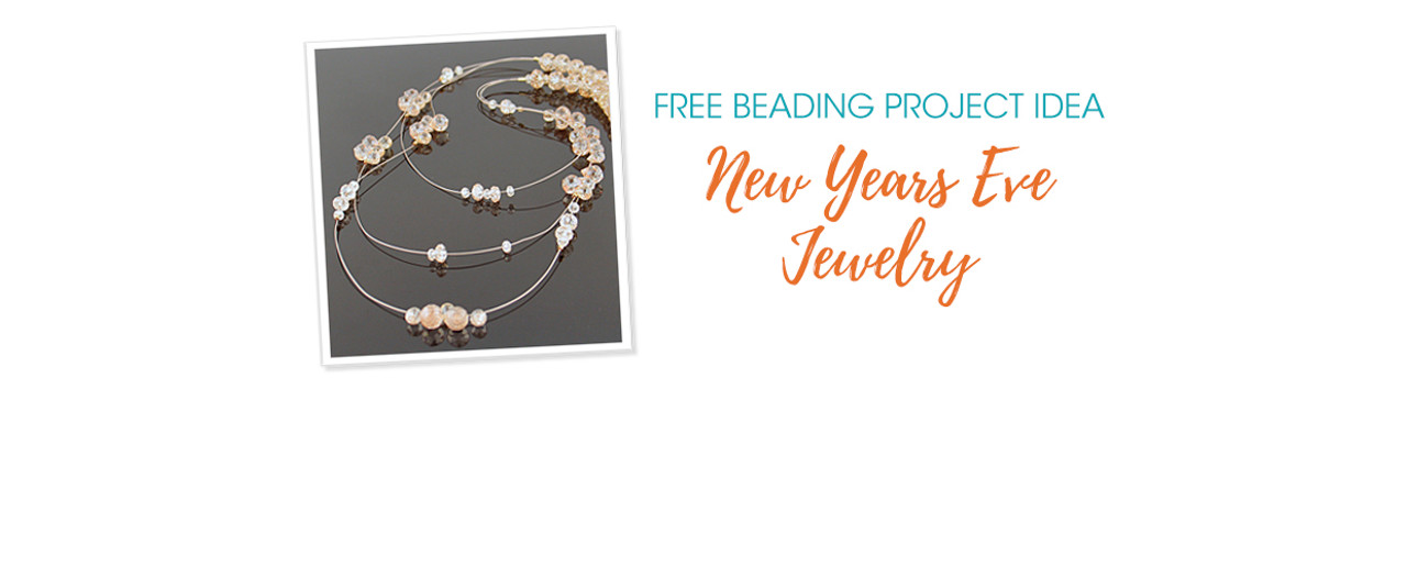 Free Beading Project Idea: New Years Eve Jewelry