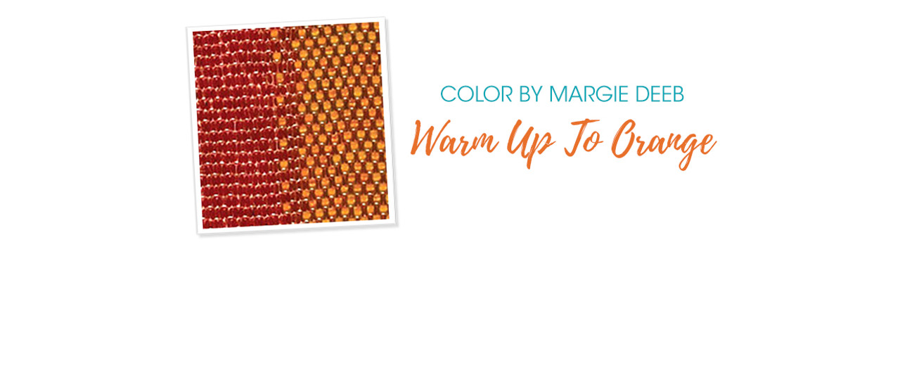 Jewelry Design: Warm Up To Orange With Margie Deeb