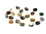 46 Count 9x6mm Wild Horse Jasper Barrels (Sale)