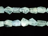 30 Count Graduated Aquamarine Simple Cut Nuggets (Sale)