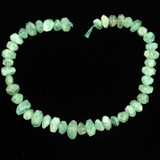 Apx 44 Count Varied Size Aquamarine Faceted Nuggets  (Sale)