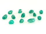 Apx 46 Count  Blue-Green Apatite Polished Pebbles (Sale)