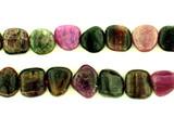 31 Count Varied Size Multi Color Tourmaline Polished Nuggets (Sale)
