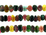 37 Count Varied Size Multi Color Tourmaline Polished Nuggets (Sale)